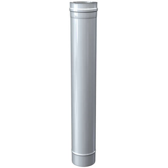 Rura prosta dwuścienna MKPS Invest MK ŻARY Ø 100/150mm 1mb biała