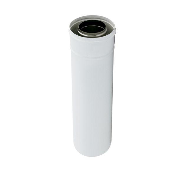 Rura biała dwuścienna Turbo SPIROFLEX Ø  80/125mm 0,50mb